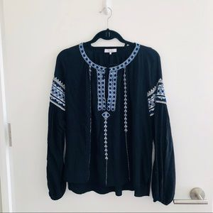 Parker Blouse - Embroidered and Beaded